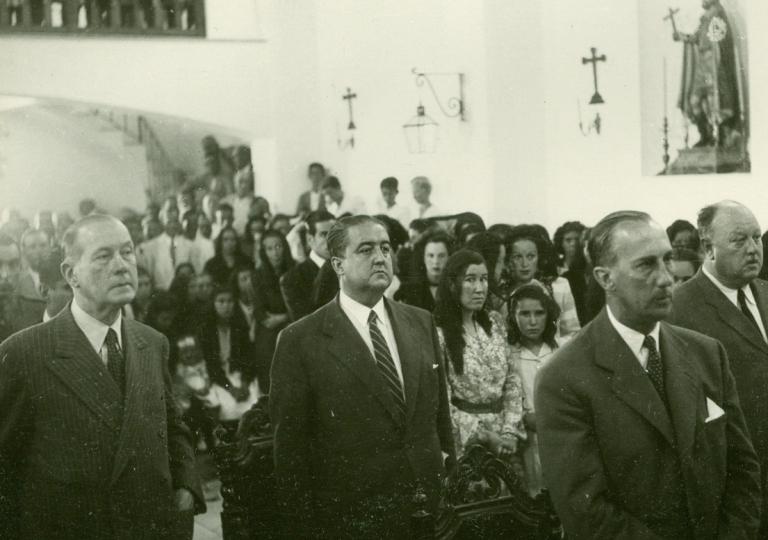 inauguracion de la iglesia